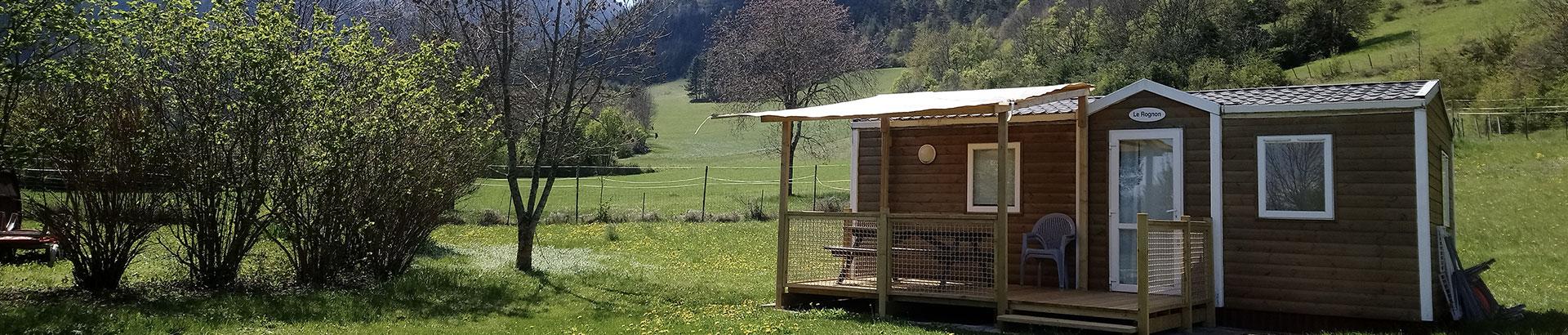 Camping Belleroche Hebergements